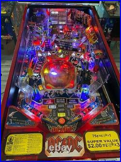AC/DC LE LET THERE BE ROCK Limited Edition Pinball Machine RARE Home Use Only