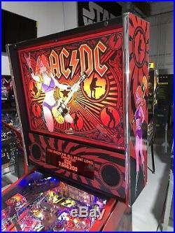 AC/DC Premium Edition Pinball Machine Stern Free Shipping