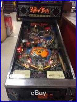 Addams Family Bally Pinball Machine