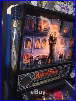 Addams Family Pinball Machine Bally Coin Op Arcade Pat Lawlor