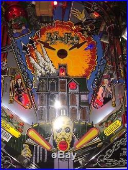 Addams Family Pinball Machine Bally Coin Op Arcade Pat Lawlor LEDS
