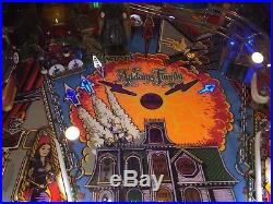 Addams Family Pinball Machine Bally Coin Op Arcade Pat Lawlor Nice LEDs Mods