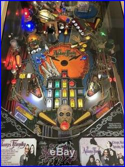 Addams Family Pinball Machine By Bally Great Classic Game From 1992