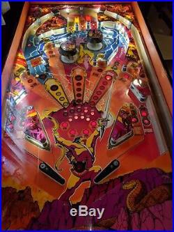Amazing Atari Hercules Pinball Machine