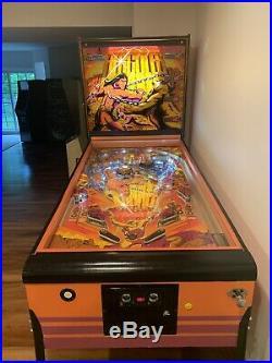Atari Hercules Pinball Machine Rare Largest
