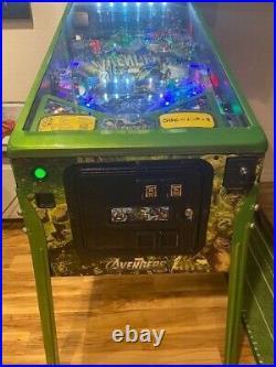 Avengers Limited Edition Pinball Machine Stern