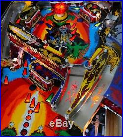 Awesome! Black Knight Pinball 1980 machine by Williams. New CPR Playfield