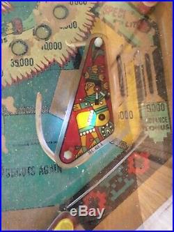 Aztec Pinball Machine By Williams