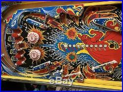 BALLY FIREBALL 1976 1st HOME VERSION PINBALL FULL MACHINE
