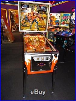 BALLY KISS PINBALL MACHINE. Restored to better than new
