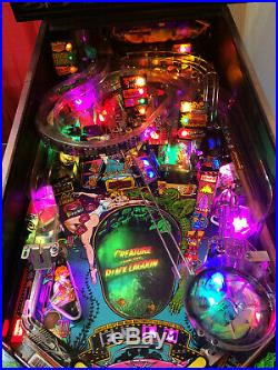 BALLY/Midway CREATURE From The BLACK LAGOON Pinball Machine Mike D Mod and LED's