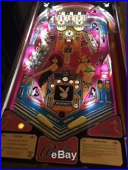 BALLY Playboy CLASSIC PINBALL Machine COLLECTOR +FREE SHIP+ARCADE