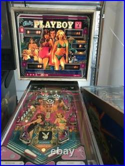 BALLY Playboy Pinball Machine AS-IS