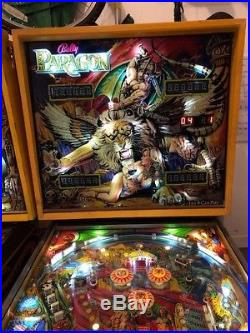 BOTH Paragon and Lost World Bally Pinball Machines-RARE to find both together