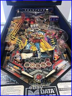 Back to the Future pinball machine by Data East