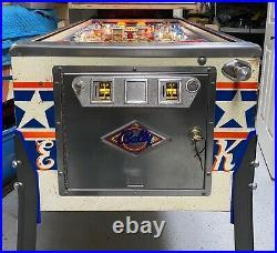 Bally 1977 Evel Knievel Pinball Machine Leds Plays Great