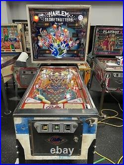 Bally 1979 Harlem Globetrotters Pinball Machine Leds Plays Great Super Nice