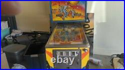 Bally 1979 Star Trek Pinball Machine Plays Great Spock Bones Mccoy Kirk