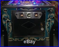 Bally 1980 Silverball Mania Pinball Machine New Playfield Leds Goregous