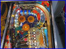 Bally 1981 Eight Ball Deluxe Pinball Machine Leds Plays Great Super Nice