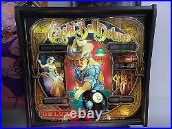 Bally 1984 Eight Ball Deluxe Pinball Machine Leds Plays Great Super Playfield