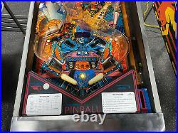 Bally 1986 Motordome Pinball Machine Leds Plays Great Motorcross