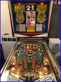 Bally 2 in 1 Pinball Machine Vintage