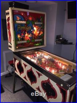 Bally Amigo Pinball Machine (1974)