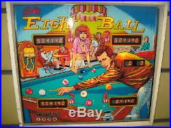 Bally Ball Eight Ball Pinball Machine