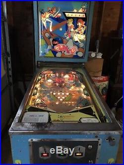 Bally Bowl O Rare Pinball Machine 1970, Working