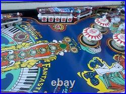 Bally Captain Fantastic Ground Up Restored Pinball Machine Full Chrome And Led's