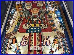Bally Classic Evel Knievel Pinball Machine 1977