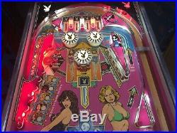 Bally Classic Playboy Pinball Machine 1978 Leds An Absolute Beauty