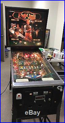 Bally Eight Ball Champ Vintage Pinball Machine Fully Working Condition Ca