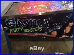 Bally Elvira And The Party Monster Pinball Machine