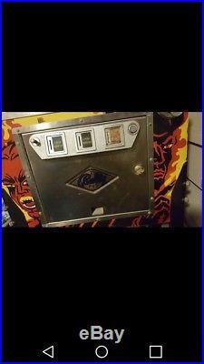 Bally FIREBALL II pinball machine. Plays great with voice