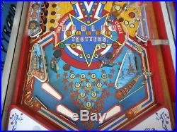 Bally Harlem Globetrotters Pinball Machine Fully Working