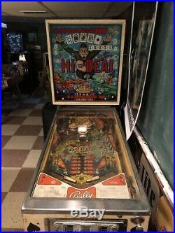 Bally Hi Deal Pinball Machine