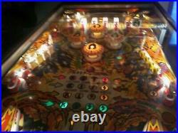 Bally Kiss 1978 Pinball Machine Gorgeous Old Florida Pick Up 1978
