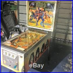 Bally Kiss Pinball Machine 1978