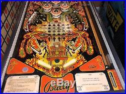 Bally Kiss Pinball Machine 1978 Nice Original 399 Shipping Leds Installed