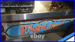 Bally / Midway Eight Ball Champ pinball machine (1985)