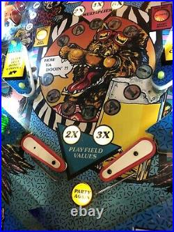 Bally Party Animal Pinball Machine