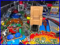 Bally Pinball Machine Addams Family Color Display Nice Gameroom Free Shipping