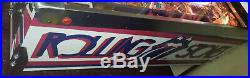 Bally Pinball Machine Rolling Stones Arcade Gameroom Free Ship