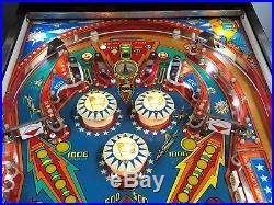 Bally Pinball Six Million Dollar Man Pinball Machine LEDS $499 SHIPS VERY NICE