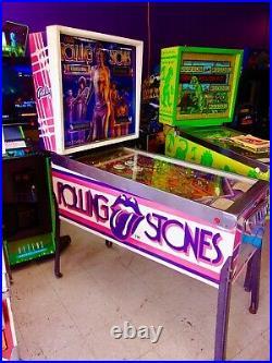 Bally Rolling Stones Pinball Machine