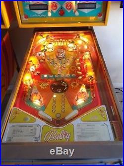 Bally Strikes and Spares pinball machine
