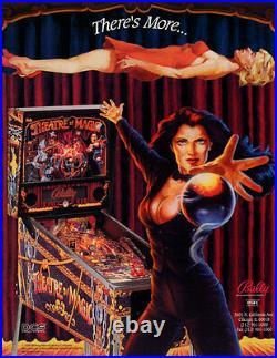 Bally Theatre Of Magic Pinball Machine Working 100% California