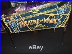 Bally Theatre of Magic Pinball Machine SUPER NICE